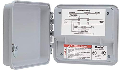 Hunter Sprinkler PSR52 Double Pole or Single Throw Pump Start Relay for Up to 7.55 HP