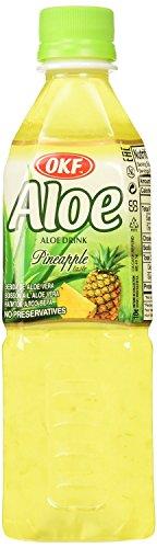 OKF Aloe Vera Drink Pineapple 16.9 Oz (Case of 10)
