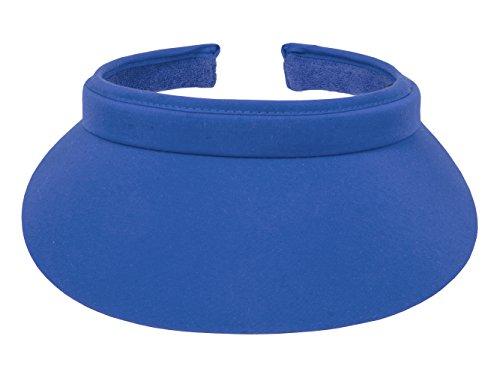 TopHeadwear Nylon Clip-On Visor, Royal