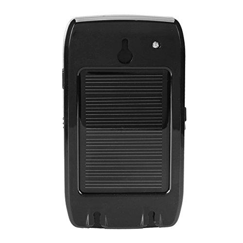 HITSAN HF-710S Solar Bluetooth Hands Free Car Kit Support Two Phones with Separate Speaker One Piece