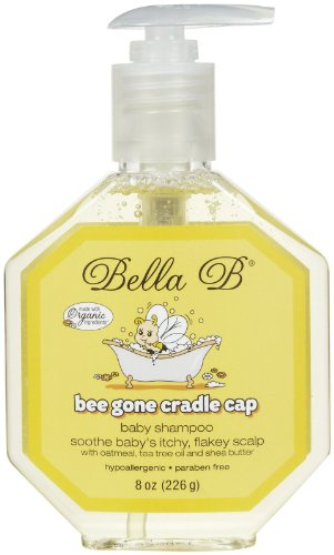 Bella B Bee Gone Cradle Cap Baby Shampoo 8 Oz - Baby Cradle Cap Remedy