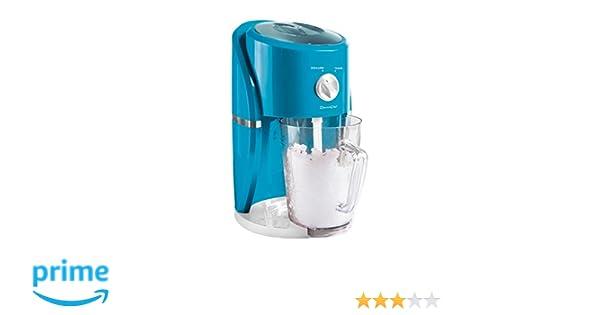 Domoclip DOM332 1.1L 25W Eléctrico triturador de hielo - Picador de hielo (Eléctrico, Azul, 1,1 L, 220 x 180 x 350 mm, 25 W): Amazon.es: Hogar