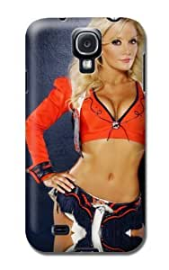 Personalized Monogram Case For Samsung Galaxy S4 - Nfl Denver Broncos Football