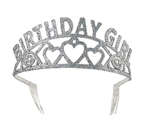 Forum Novelties Glitter Tiara Birthday Girl
