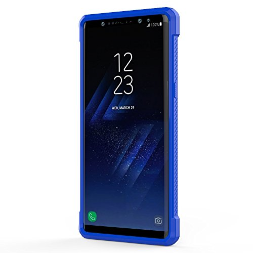 XIAOGUA Cases & Covers, Para Samsung Galaxy Note 8 PC + TPU Beetle Protective Contraportada ( Color : Purple ) Blue