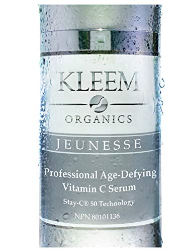 Kleem Organics Vitamin C Serum for Face with Hyaluronic Acid & Vitamin E | Natural Anti Aging Face Serum | Best Anti Wrinkle Facial Serum | Acne Spot Treatment and Dark Spot Corrector for Face [1 oz]