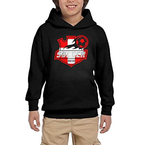 2018 Soccer Switzerland Youth Unisex Hoodies Print Pullover Sweatshirts supplier