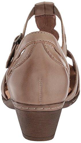 Khaki Curvy Leder Damen T Schuhe Rockport Abbott q84Xxpa
