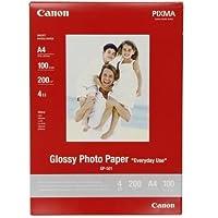 Canon GP-501 Fotoglanzpapier (200 g/qm), A4, 100 Blatt