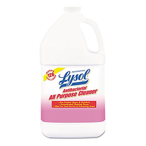 Professional Lysol Antibacterial All-Purpose Cleaner Concentrate, 4gal (4X1gal)