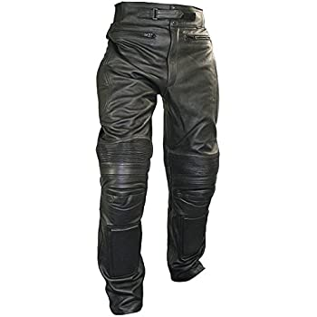 Xelement Men's Armored Cowhide Leather Racing Pants - Size : 36