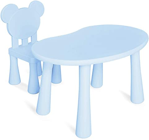 GYiYi Ensemble De Table Et De Chaise pour Enfants, Table De ...
