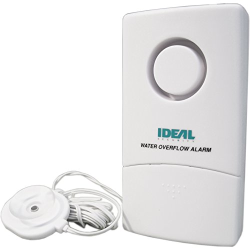 Ideal Security Inc. (SK606) Flood Water and Overflow Alarm, White