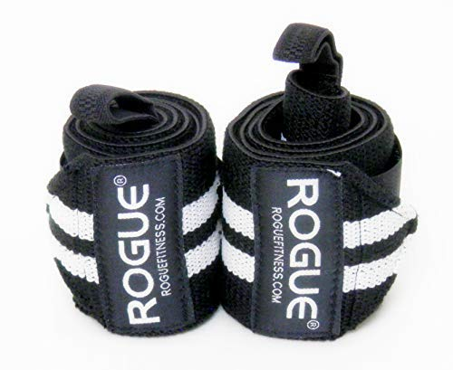 - Rogue Fitness Wrist Wraps | Available in Multiple Colors (Black/White, 18