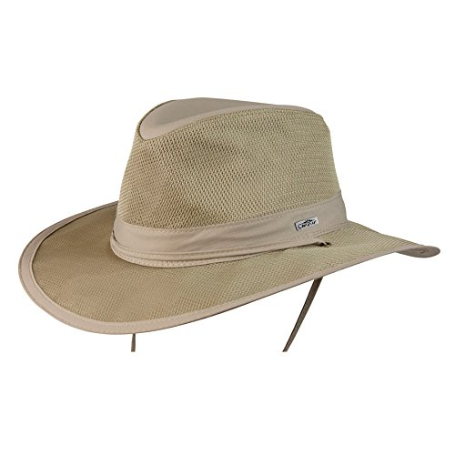 Conner Hats Men's Sunblocker Outdoor Supplex Hat, Sand, L