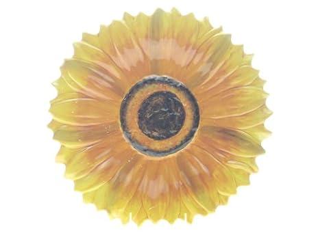 Certified International Tuscan Sunflower 3-D Sunflower Platter,