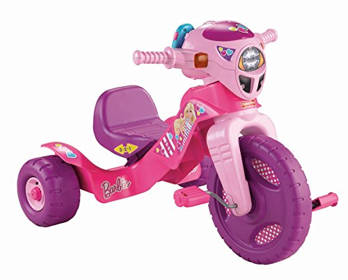 Fisher-Price Barbie Lights & Sounds Trike (Tricycle Plastic)