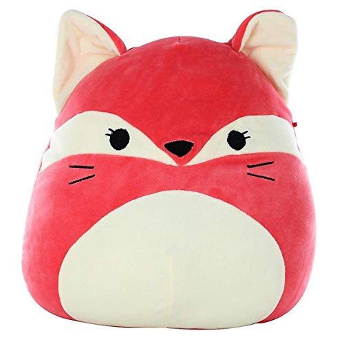 SQUISHMALLOW Fifi The Fox Pillow Stuffed Animal, Red, 16'' by SQUISHMALLOW