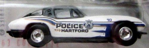 Hot Wheels 1999 Series 2 Cop Rods: Hartford CT '63 Corvette