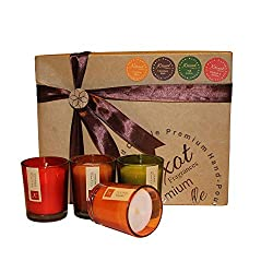 KRIXOT Assorted Set of 12 Colored Glass Votives in