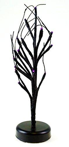 Spooky Light Up Halloween Tabletop Tree