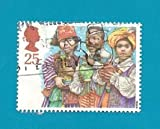 Great Britain (used stamp) Diversity of Empire Children Christmas (3 Wisemen)