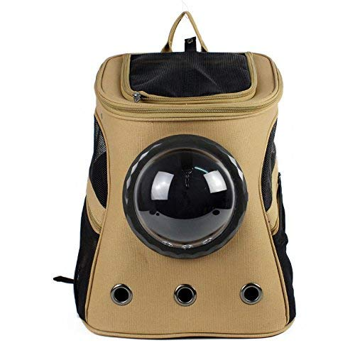 Pet Carrier Seat Pet Travel Carrier Space Capsule Shaped Breathable Pet Backpack Pet Dog Bags Outdoor Portable Cat Carrier Case Transparent Cover Pet Carrier Crate
