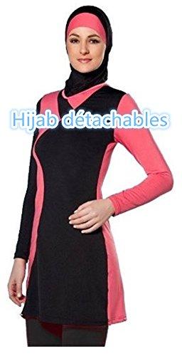 maillots de bain musulman filles maillot de bain islamique hijab muslim swimwear islamic. Black Bedroom Furniture Sets. Home Design Ideas