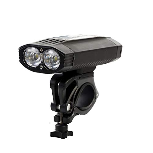 Vicole T6 LED Bike Lights Front Headlight - New Waterproof LED Bicycle Front Head Light+Rear Safety Flashlight
