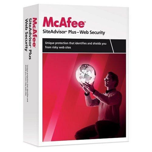 McAfee Site Advisor Plus 2009 1-User  [Old Version]