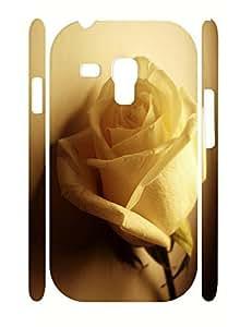 Beautiful Treasure Flower Print High Impact Samsung Galaxy S3 Mini I8200 Phone Case WANGJING JINDA