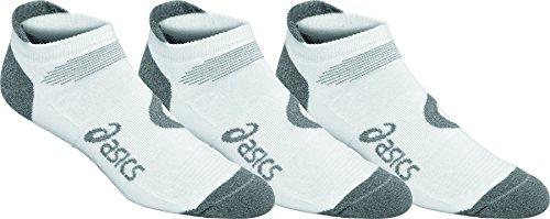 ASICS Intensity Single Tab Socks 3-Pack, White,