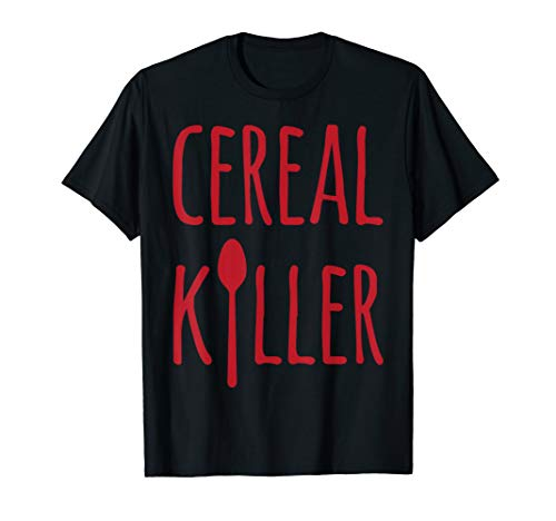 Cereal Killer Funny Breakfast Fan T-Shirt ()
