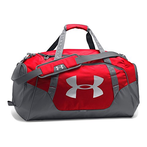 Under Armour Undeniable 3.0 Medium Duffle Bag, Red (600)/Silver
