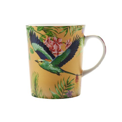 Maxwell and Williams Cashmere Birds of Paradise Mug Cup GOLD 330ml 11.15fl oz