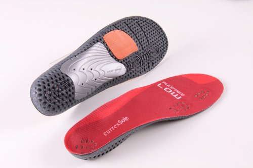 RunFree Insoles - Low Arch Profile - Europe's Leading Insoles for Running & Walking, by currexSole - Europe Triathlon