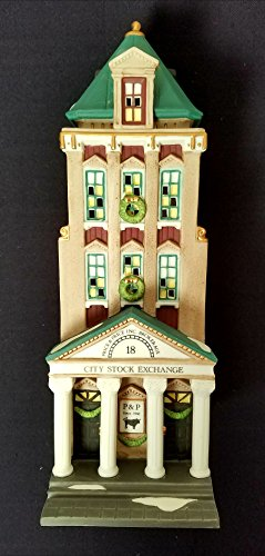 Department 56 Heritage Village Collection ; Christmas in the City Series ; 1994 Brokerage House #5881-5