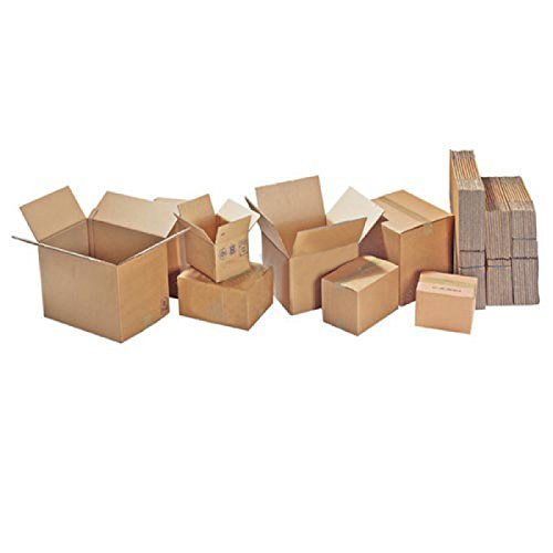 TAP 28086 Caisses carton double cannelure, 30 cm Longueur, 20 cm Largeur, 17 cm Hauteur (Pack de 20)