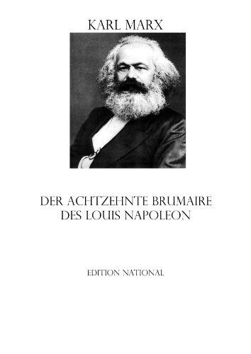 MARX DER ACHTZEHNTE BRUMAIRE EBOOK DOWNLOAD