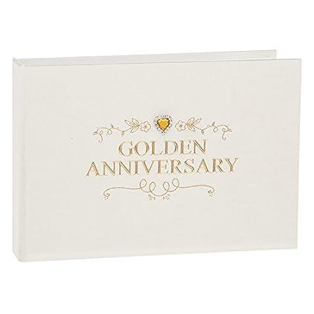 Giftslinen 50th Golden Wedding Anniversary Photo Album 24 Pictures