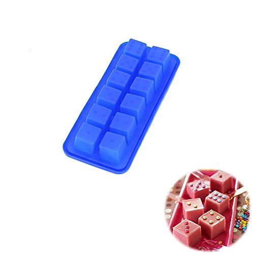 SuperStores 3D Silicone Ice Molds For Chocolate Jelly Cake Decorating Tools
