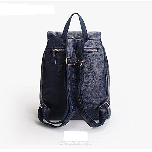 Sac 33038 femme DISSA main Sac LF Bleu en dos fashion cuir portés à UfqZ41Ew