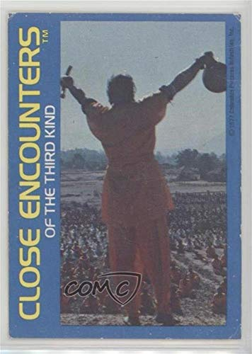The sound is heard in India Ungraded COMC Poor (Trading Card) 1977 Wonder Bread Close Encounters of the Third Kind - [Base] #12 ()