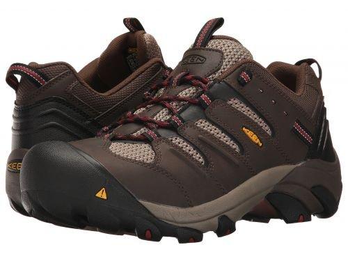 Keen Utility(キーン) メンズ 男性用 シューズ 靴 スニーカー 運動靴 Lansing Low Cascade Brown/Bosa Nova [並行輸入品] B07BMDSR7D 9 EE Wide