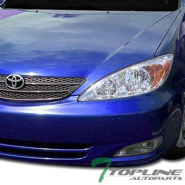 Jdm Chrome Front Bumper Fog Lights W/Switch Toyota Camry Corolla Solara