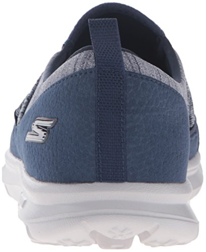 Skechers Performance Dames Gaan Step Sling Walking Schoen Marine / Grijs