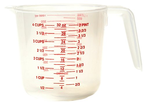 Norpro 4-Cup Plastic Measuring Cup