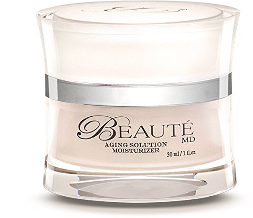 [Beaute MD Moisturizer - ALL Natural Anti Aging Formula Made With Organic Ingredients, Ginkgo Biloba & Fruit Stem Cells by TOP US Dr. & Lab - 1 OZ] (Md Anti Aging Moisturizer)