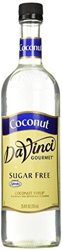 - DaVinci SUGAR FREE Coconut Syrup w/Splenda 750 mL