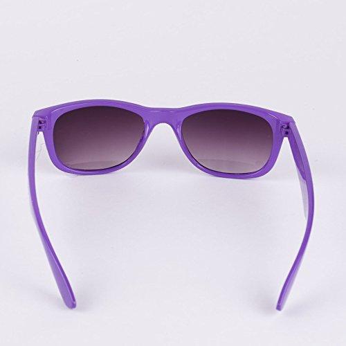 Pointus Bords 50 Violet à Années Style De Lunettes Soleil Montures Unies 77qXY
